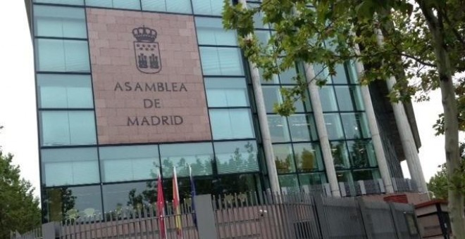 Asamblea de Madrid. Europa Press