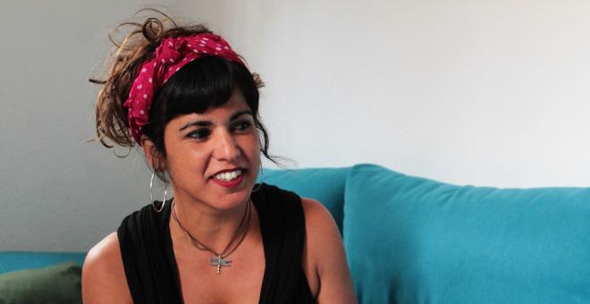 """""""El problema de Podemos es que hay liderazgos muy marcados"""", dice Teresa Rodríguez."""