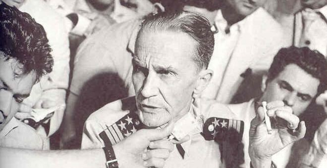 El capitán Henrique Galvao, primero salazarista y luego miembro del DRIL.