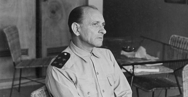 Sotomayor, jefe del aparato militar del DRIL, había sido comandante de la Marina republicana durante la guerra civil. / ARCHIVO XURXO MARTIZ
