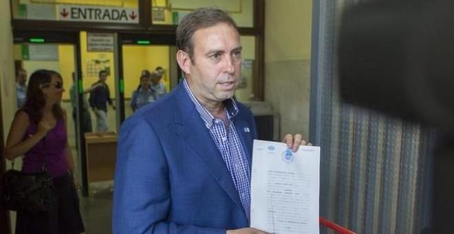 El alcalde de Jun, José Antonio Rodríguez./ EFE