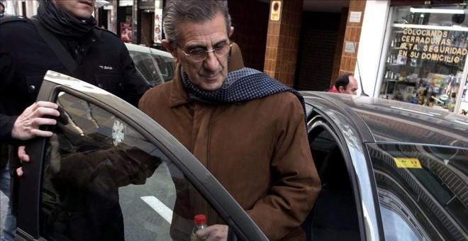 El padre Román, único acusado en el caso de los abusos sexuales a un menor en Granada. EFE/Miguel Ángel Molina