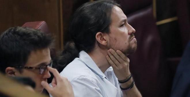 El líder de Podemos, Pablo Iglesias. - EFE