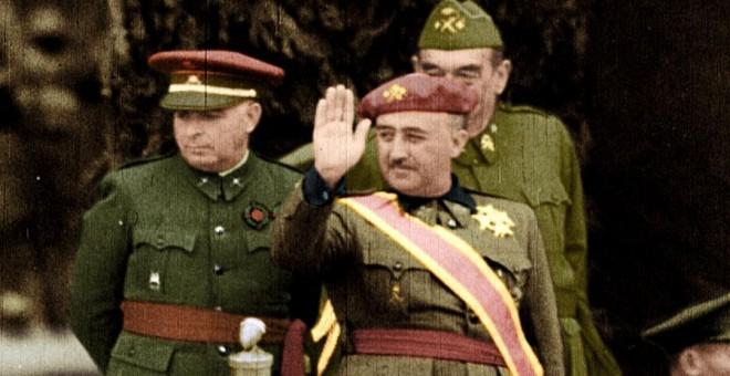Un instante de 'España en dos trincheras'