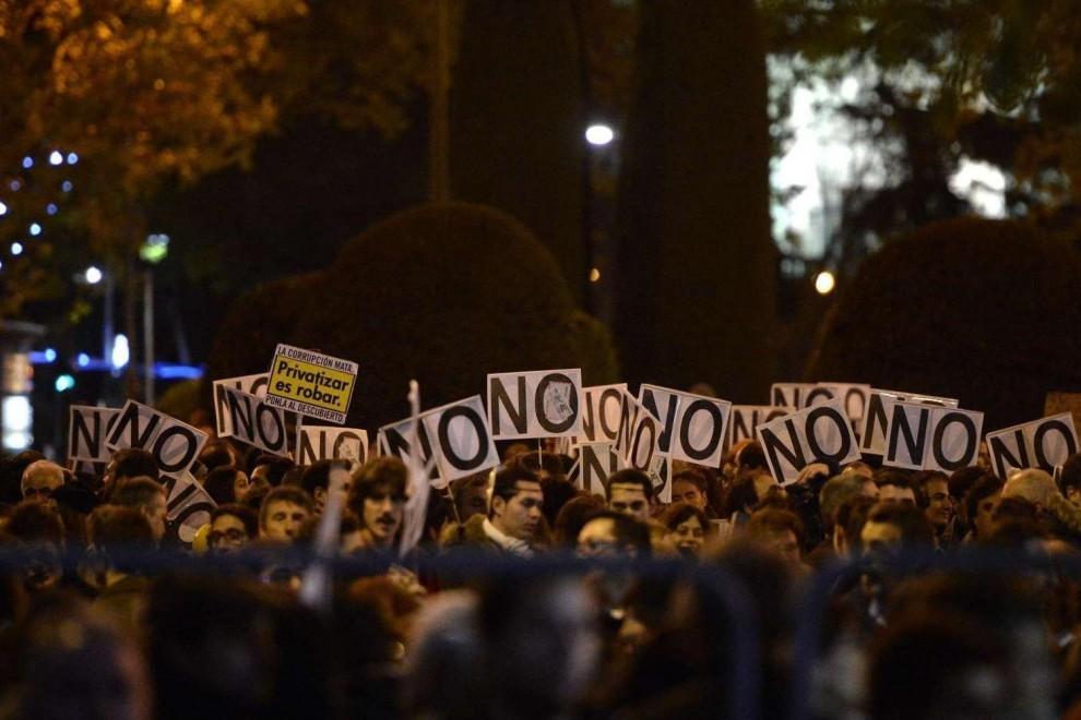 Una de las manifestaciones de Rodea el Congreso de 2013.- AFP