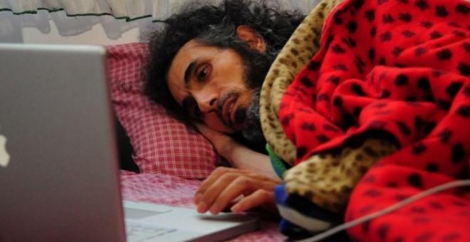 Jihad Diyab, en una fotografía del pasado mes de septiembre. - AFP