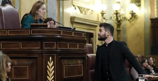 El diputado de ERC Gabriel Rufián.- EFE