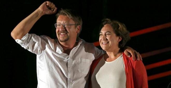 """El nuevo partido de Ada Colau se presentará en marzo y Xavier Domènech será el """"arquitecto"""" / EFE"""