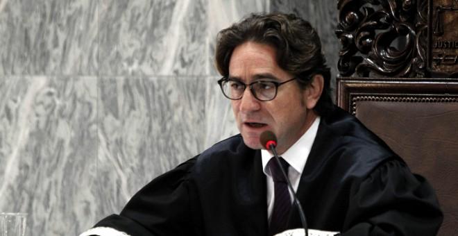 El juez Salvador Alba. EFE