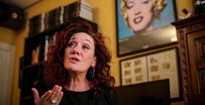 La periodista y escritora Cristina Fallarás. / JAIRO VARGAS