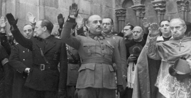 Los restos de Franco se encuentran en el Valle de los Caídos, un mausoleo hecho a mayor gloria del dictador