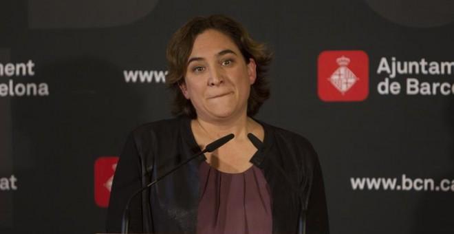 La alcaldesa de Barcelona, Ada Colau. /EFE