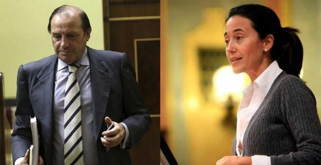 El exdiputado del Partido Popular Vicente Martínez Pujalte y Ana Torme. / EFE