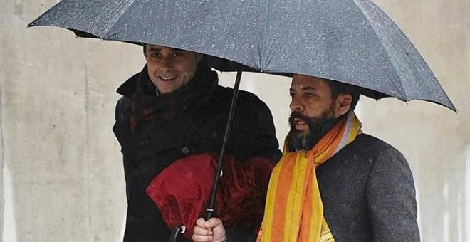 'El Bigotes, este miércoles a la entrada de los juzgados por la trama Gürtel / EFE