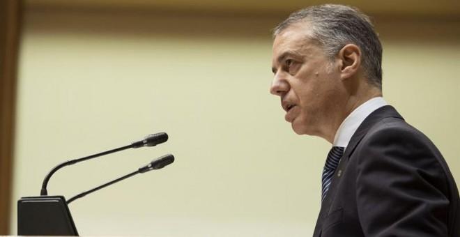 Urkullu y PSE sacan adelante un nuevo gobierno en minoría / EFE