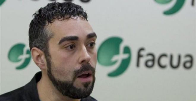 Rubén Sánchez, portavoz de FACUA-Consumidores en Acción. / EFE