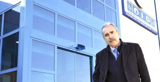 El presidente de OID, Dionisio González Otero. OID