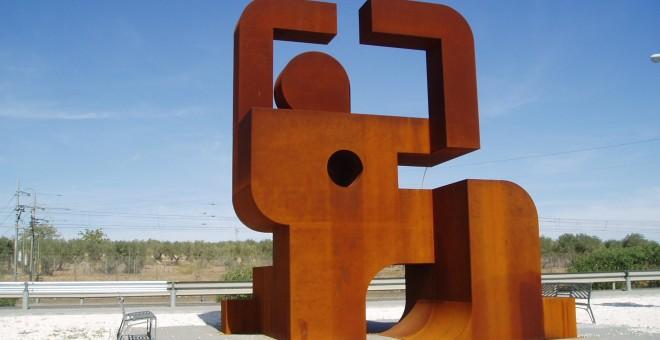 Monumento a la memoria de los presos en Los Merinales. WIKIPEDIA