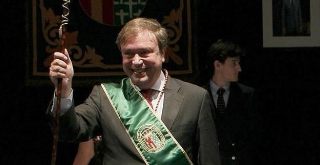 Juan Soler, el día de su investidura como alcalde de Getafe.- EFE