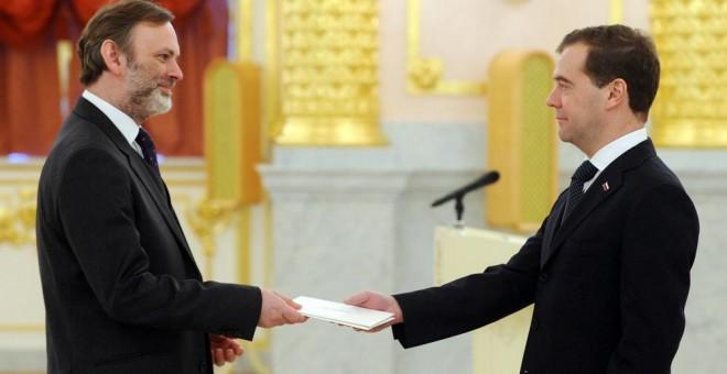 Resultado de imagen de Tim Barrow nuevo embajador