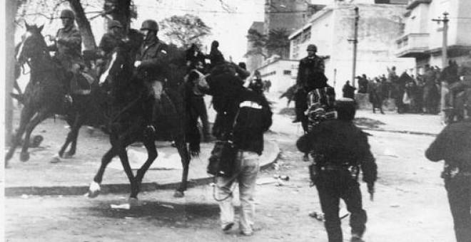Policías uruguayos en una imagen de archivo.