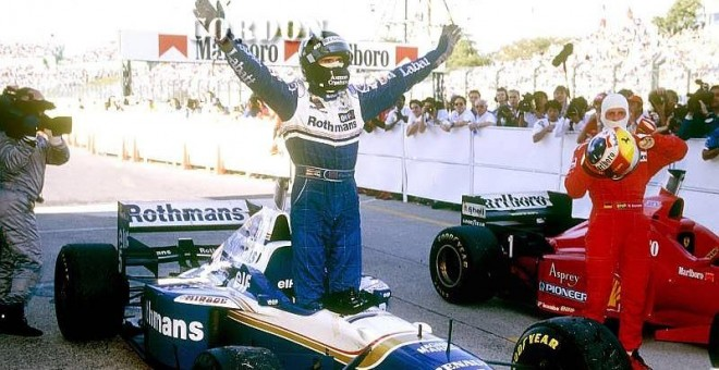 Damon Hill. /CORDON PRESS