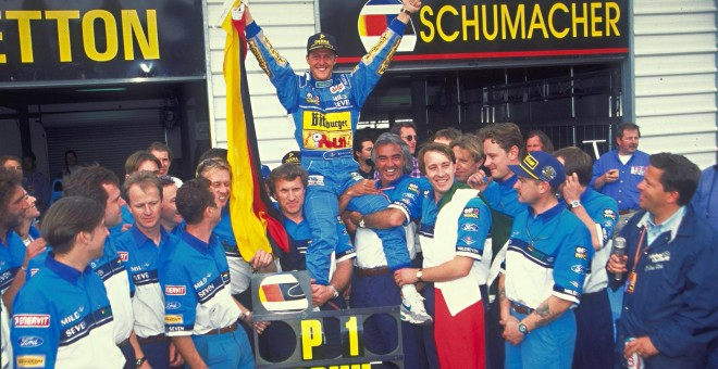 Michael Schumacher. /CORDON PRESS