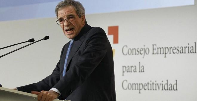 El presidente del Consejo Empresarial para la Competitividad, César Alierta.