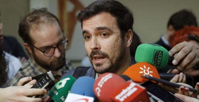 El coordinador general de IU, Alberto Gazón. EFE
