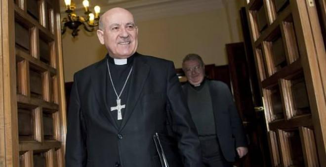 El arzobispo Vicente Jiménez tendrá que declarar como imputado el próximo 3 de marzo en los juzgados de Zaragoza / WIKIPEDIA