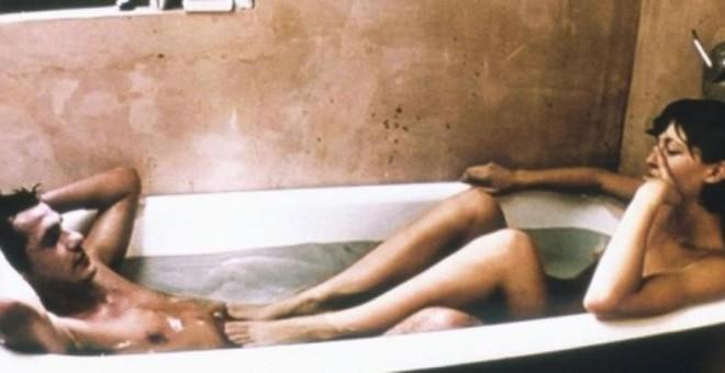 Peli porno duro sexo explícito El Desafio De Los Penes Erectos En El Cine Publico