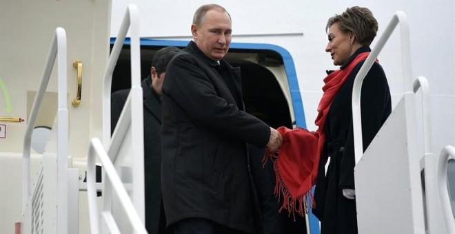 El presidente ruso, Vladimir Putin. EFE/Tamas Kovacs