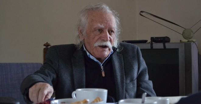 Manolis Glezos fue eurodiputado con Syriza durante un año. - ÁLVARO GONZÁLEZ GARCÍA-CALVO