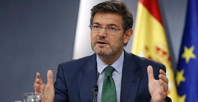 Rafael Catalá, ministro de Justicia.EFE