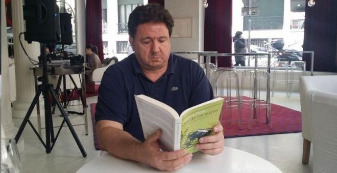 El denunciante de Gürtel, José Luis Peñas, en una imagen de archivo, durante la presentación de su libro: 'Uno de los suyos'.