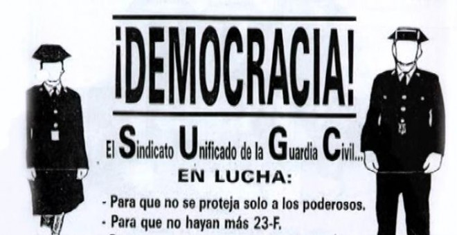 Octavilla del sindicato clandestino SUGC
