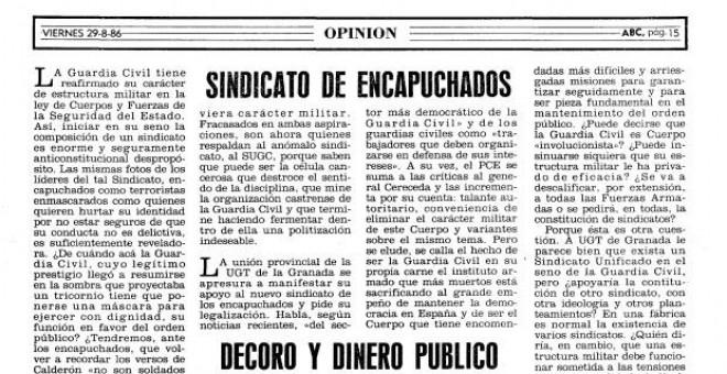 ABC, agosto de 1986.