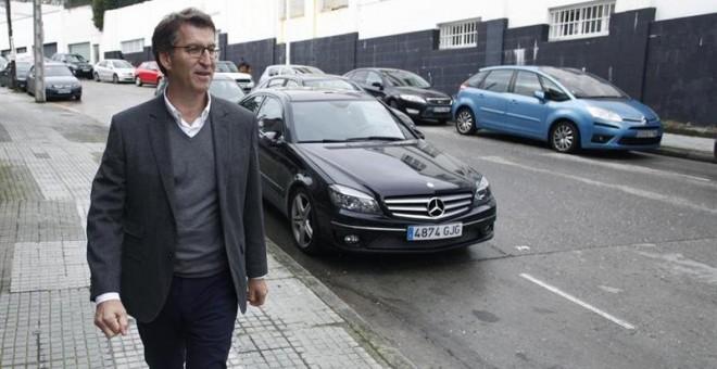 El presidente de la Xunta de Galicia, Alberto Núñez Feijóo. EFE