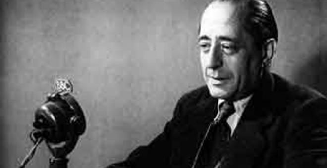 Arturo Barea, autor de 'La forja de un rebelde'