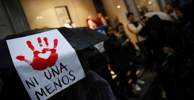 Concentración feminista en Argentina. Reuters/Edgar Garrido