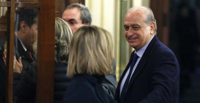 El exministro de Interior Jorge Fernández Díaz. EFE