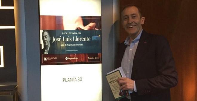 José Luis Llorente presenta su libro 'Espíritu de remontada'