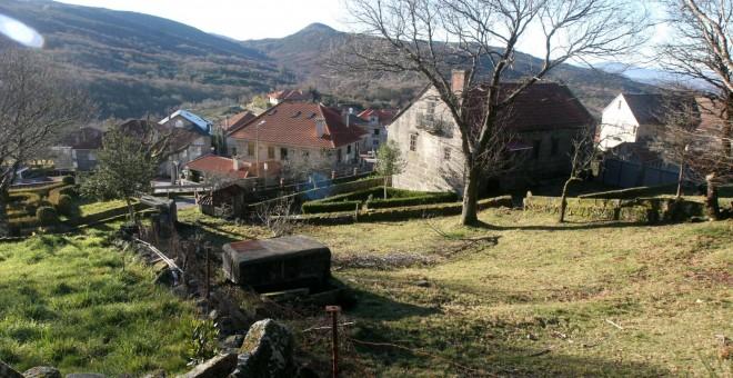 Aldea despoblada en Galicia / EFE