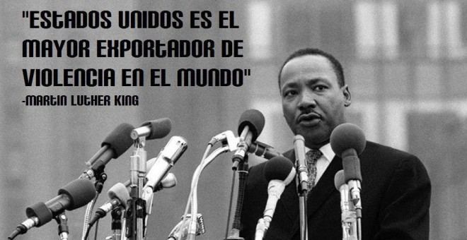 El reverendo y Premio Nobel de la Paz Martin Luther King .
