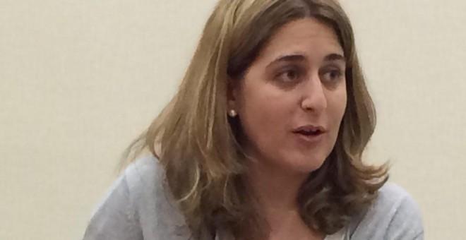 La coordinadora general del PDECat, Marta Pascal. JORGE SÁNCHEZ