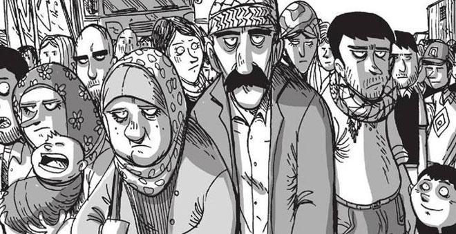 La dignidad del pueblo kurdo de la mano de Zerocalcare