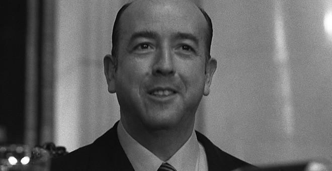 Fotografía de Archivo, tomada el 16 de diciembre de 1974, de Jose Utrera Molina, ministro y vicepresidente en diferentes Gobiernos de Francisco Franco. EFE/Volkhart Müller