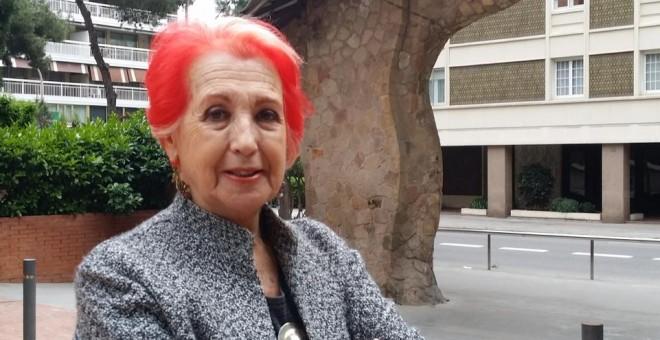 La periodista Rosa María Calaf. A.I.B.T.