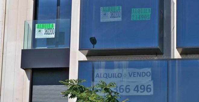 Viviendas en venta y en alquiler en Madrid. E.P.