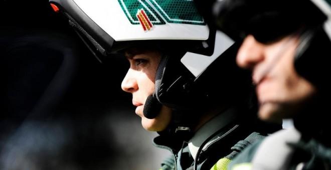 Una guardia civil de tráfico. Imagen: GC